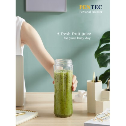 PENTEC Personal Blender TAC-336 Easy To Carry Safety Lock Protection Durable Stainless Steel Cutter Blade