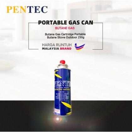Pentec Butane Gas MD-240M Cartridge Portable Butane Stove Outdoor Camping 1 unit 230g Made In Korea