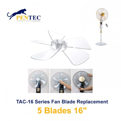 "Pentec TAC-1818 1669 1626 3 Blade or 5 Blade Replacement 20cm (16"") 22cm (18"")"