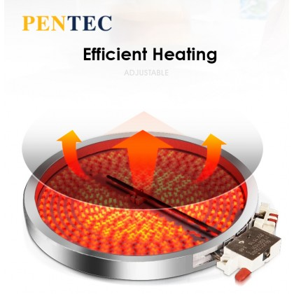 PENTEC Tempered Glass Button Induction MD-133 Induction Cooker Stove Single Stove Gas Stove Household