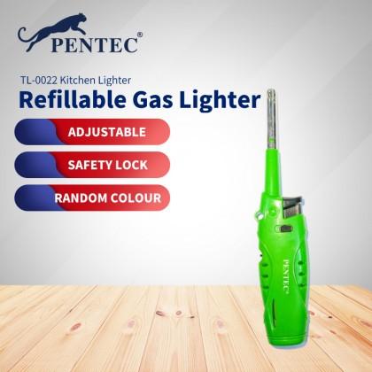 PENTEC TL-0022 Electric gun lighter kitchen gas stove burning household extended long lighter (Random Colour)